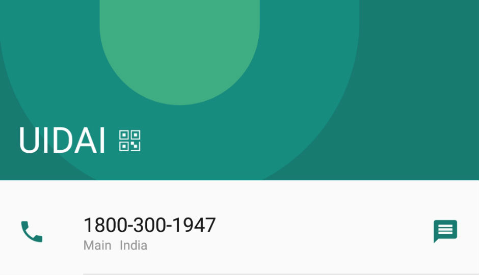How Google put UIDAI number on your Android phone: We explain