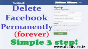 How to Delete Facebook Account Permanently 2018