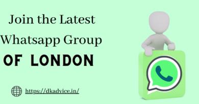 London Whatsapp
